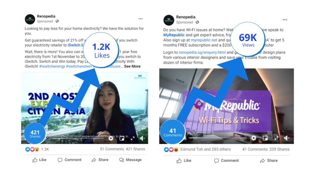 Advertise on Social Media | Corporate Video Production Singapore